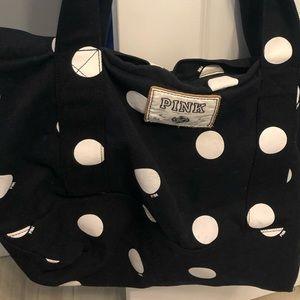 Victoria Secret PINK Polka Dot Tote Bag
